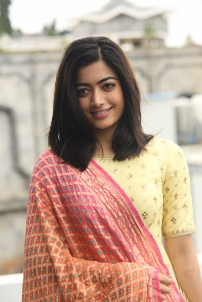 Rashmika Mandanna In Salwar Kameez New Photos