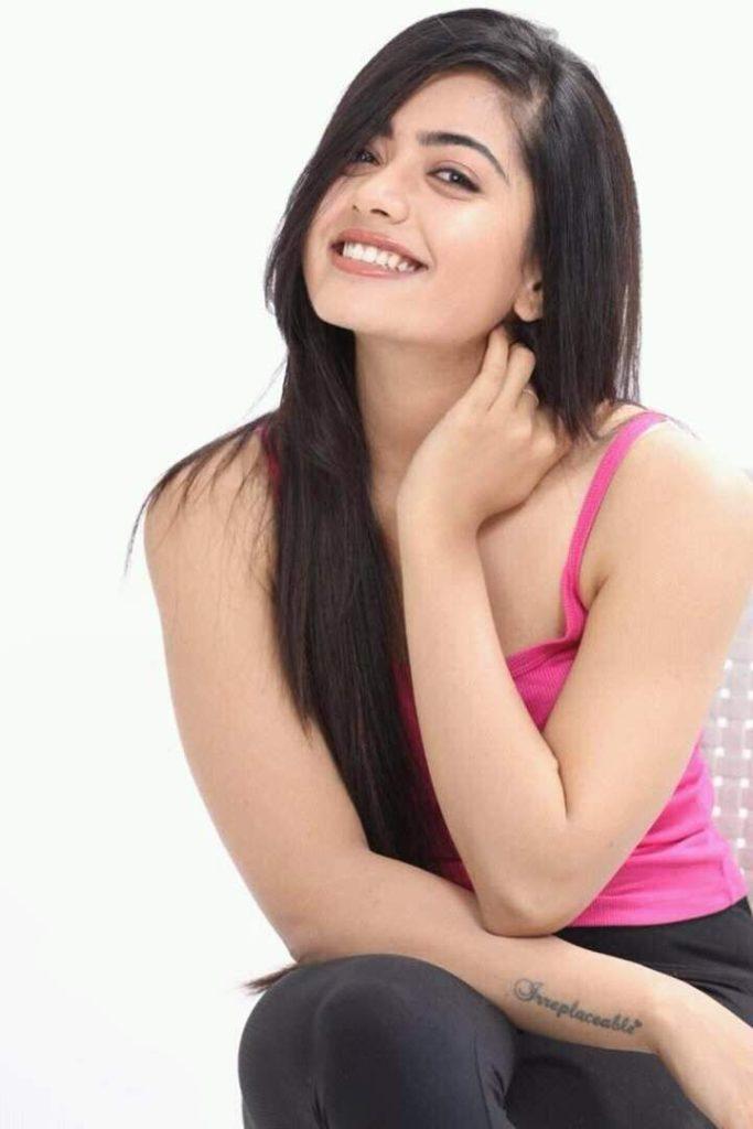 Rashmika Mandanna New Hair Style HD Photos