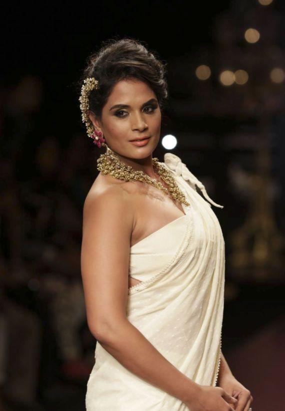 Richa Chadda Hot Images At Rampwalk