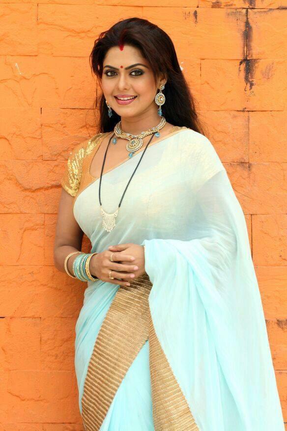 Rinku Ghosh In Saree Photos
