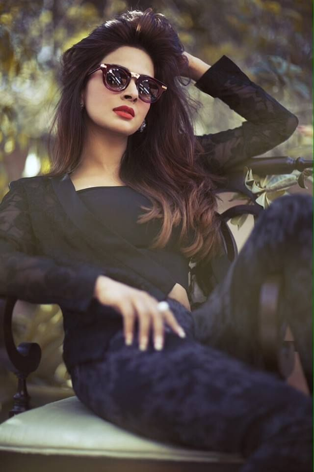 Saba Qamar In Jeans Top Images