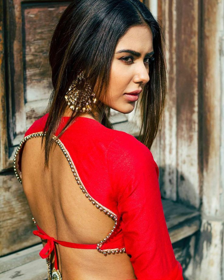 Sonam Bajwa Hot In Backless Clothes