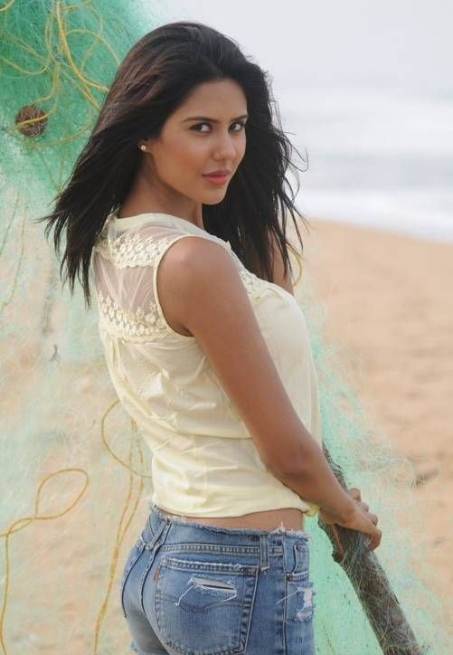 Sonam Bajwa Hot In Backside Photos