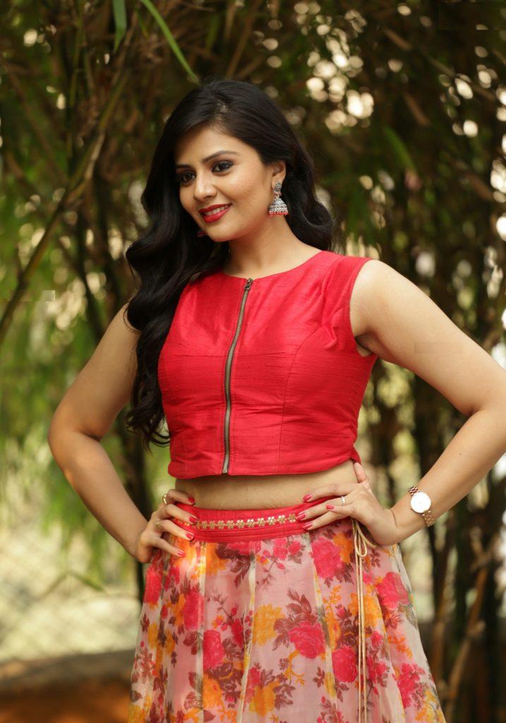 South Actress Sreemukhi Hot Pics