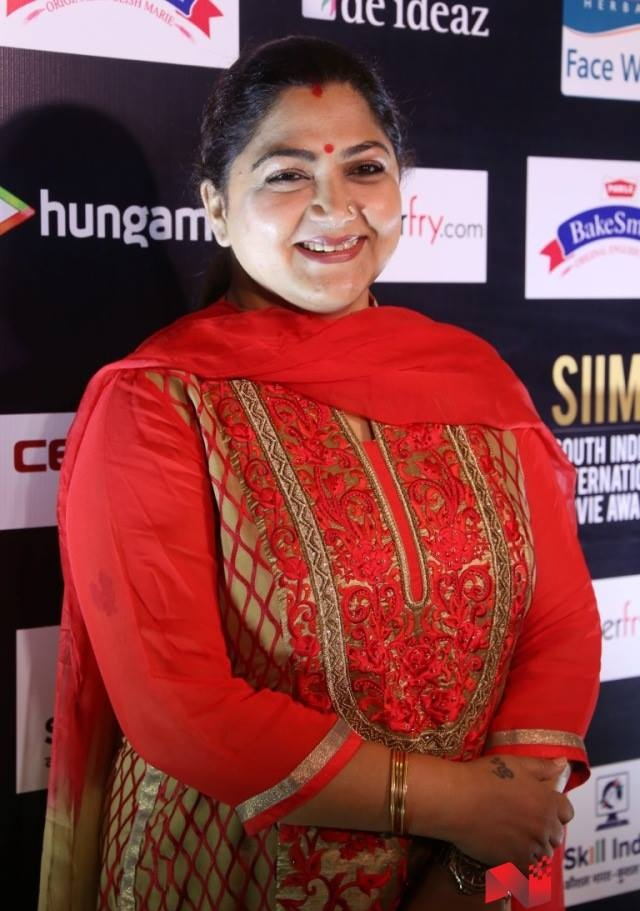 Stylish Actress Kushboo Hot Images