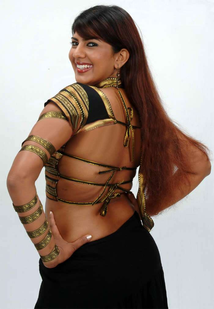 Swarnamalya In Backless Clothes Bold Pics