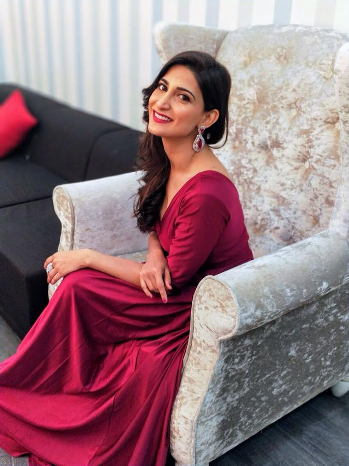 Aahana Kumra Hot Images In Red Clothes