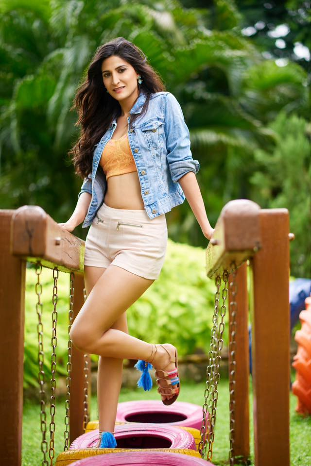 Aahana Kumra In Shorts Photos