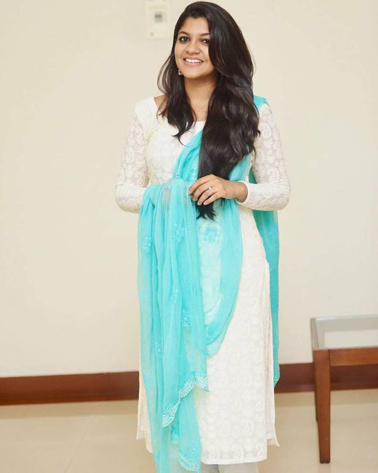 Aparna Balamurali In Salwar Kameez Photos