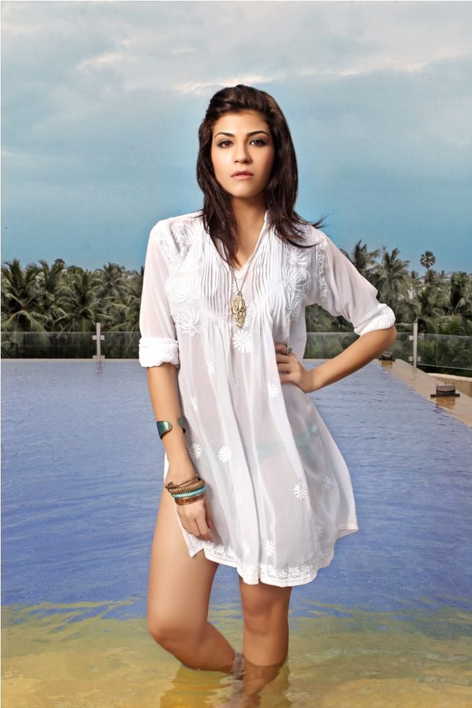 Archana Vijaya In Swimsuit Pictures On The Beach