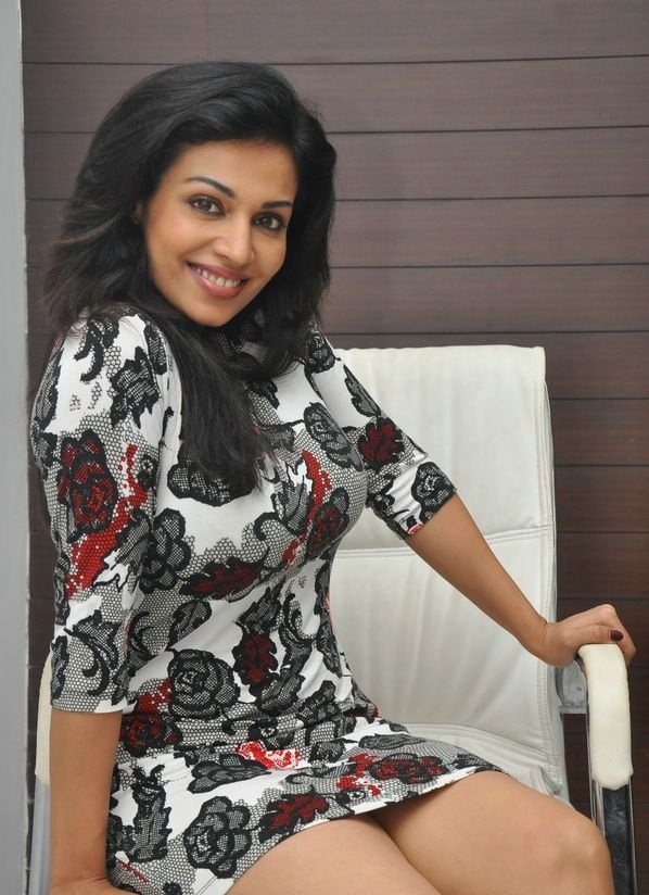 Asha Saini In Short Photoshoot