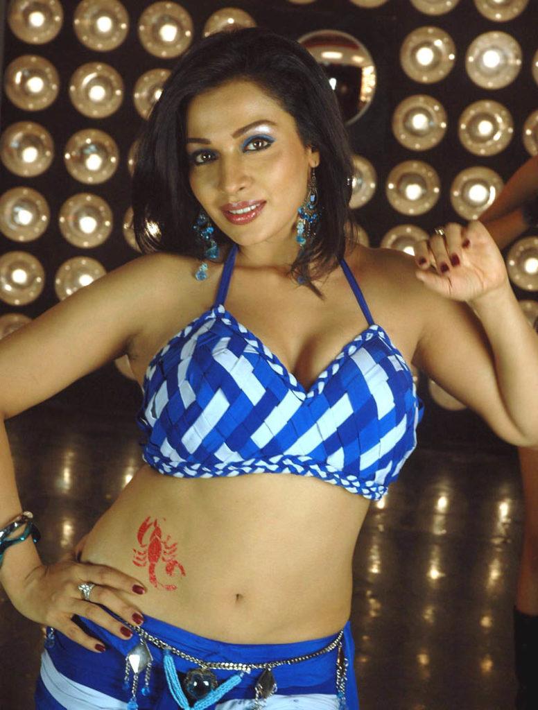 Asha Saini Navel Pics In Bra