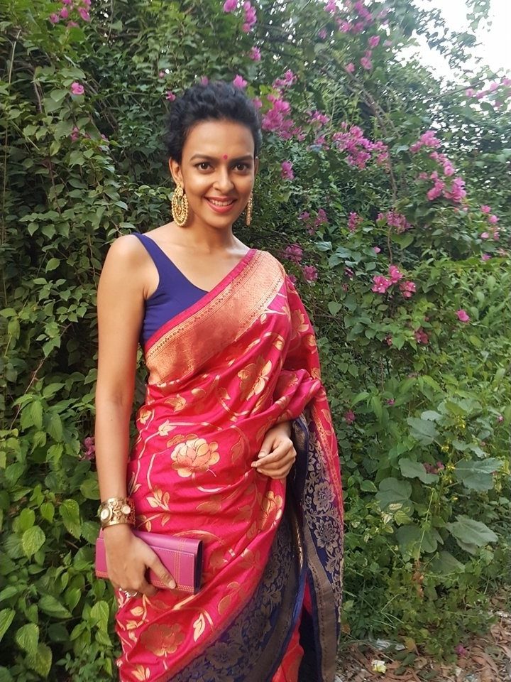 Bidita Bag Pics In Garden