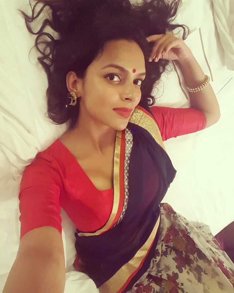 Bidita Bag Spicy Selfie Photos