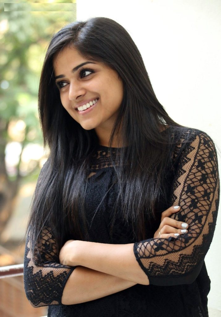 Chandini Sreedharan Cute Smile Photoshoot