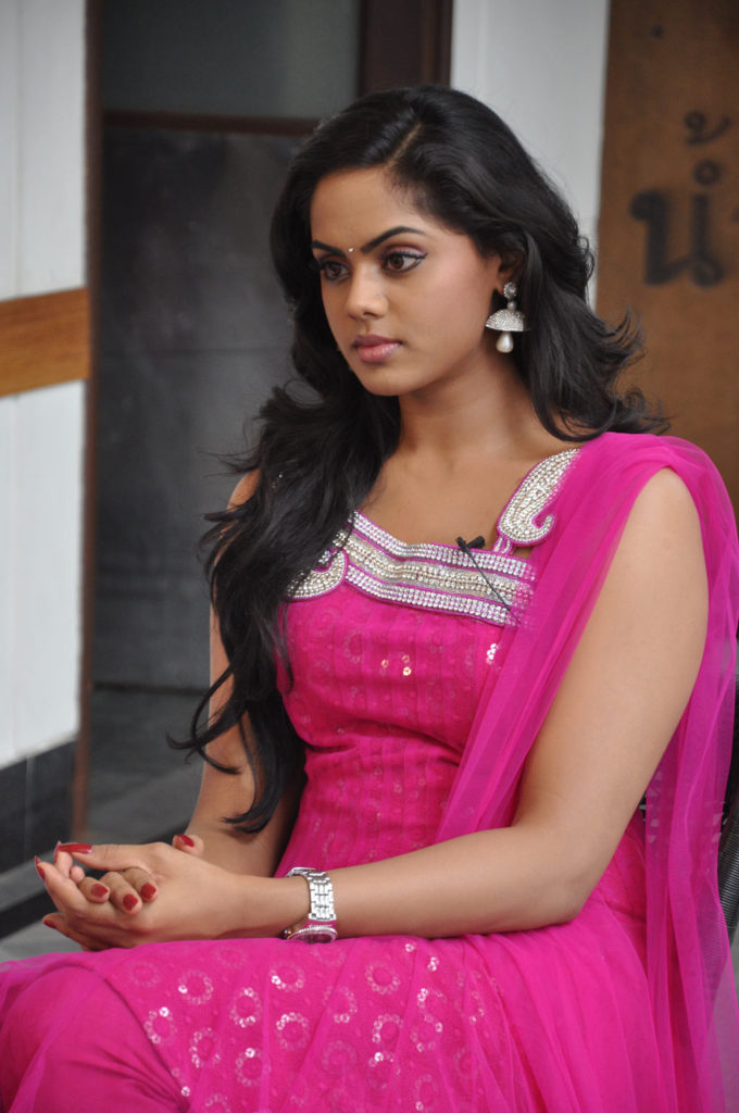 Karthika Nair In Pink Color Clothes Photos