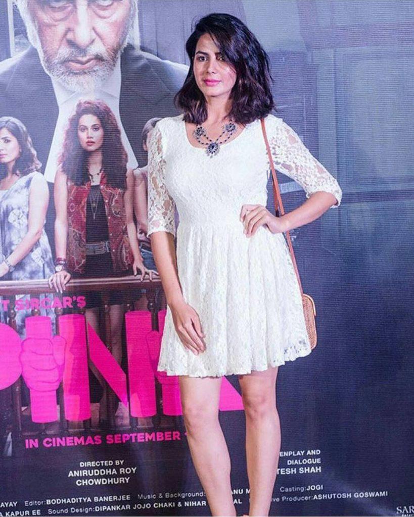 Kirti Kulhari In Shorts Bold Pics At Event