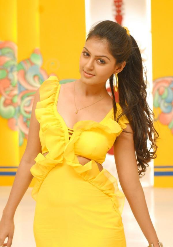 Monal Gajjar Hot In Yellow Clothes