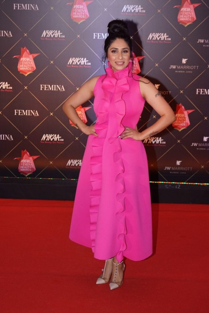 Neha Bhasin New Images At Awards Show