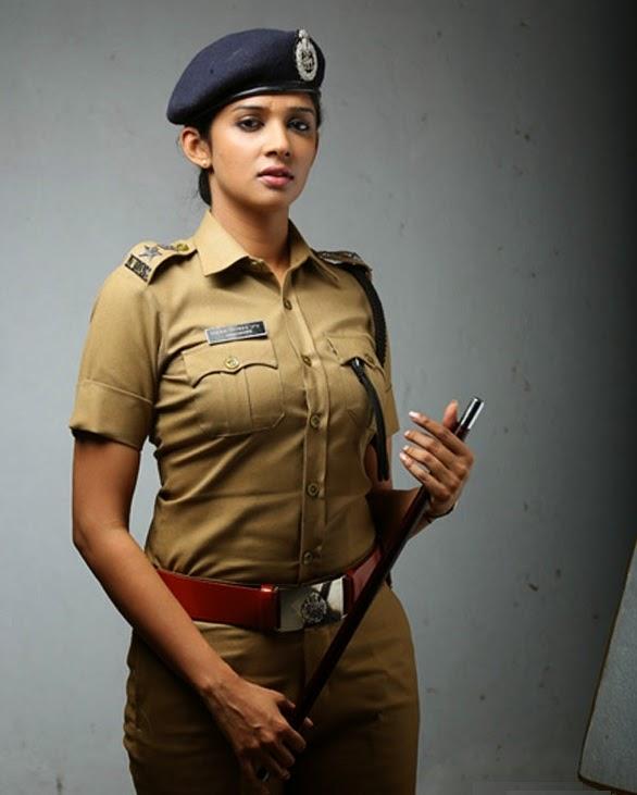 Nyla Usha In Police Clothes Pics