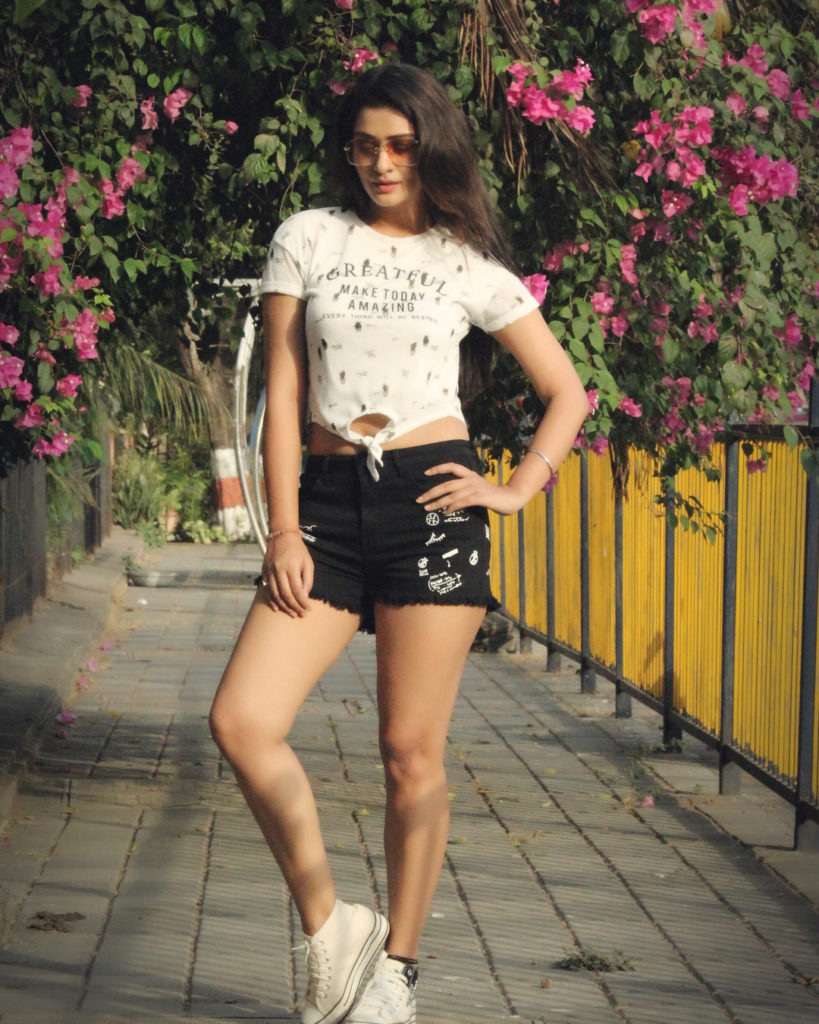 Payal Rajput In Shorts Images