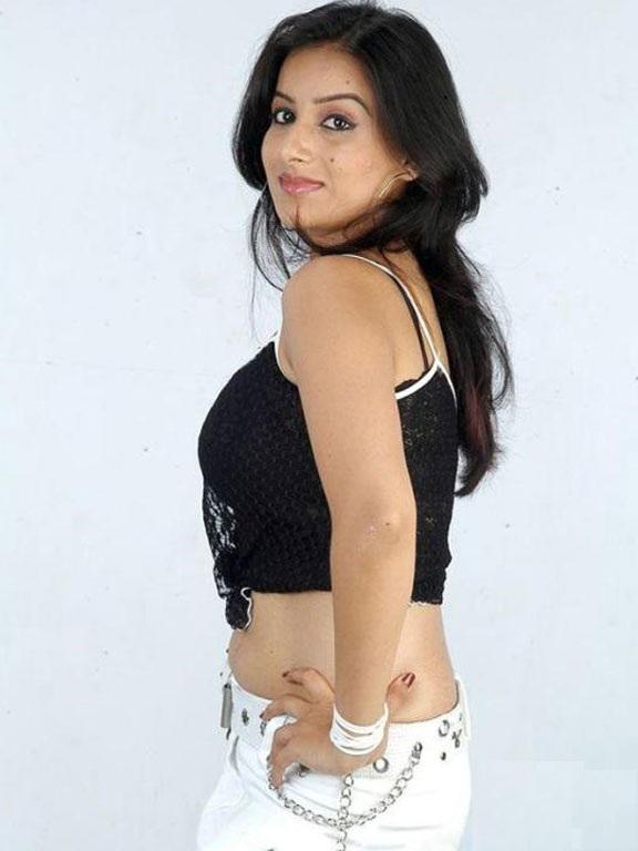 Pooja Gandhi Bold Pics In Shorts
