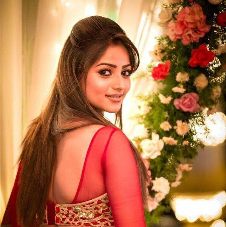 Rachita Ram In Backless Saree Images