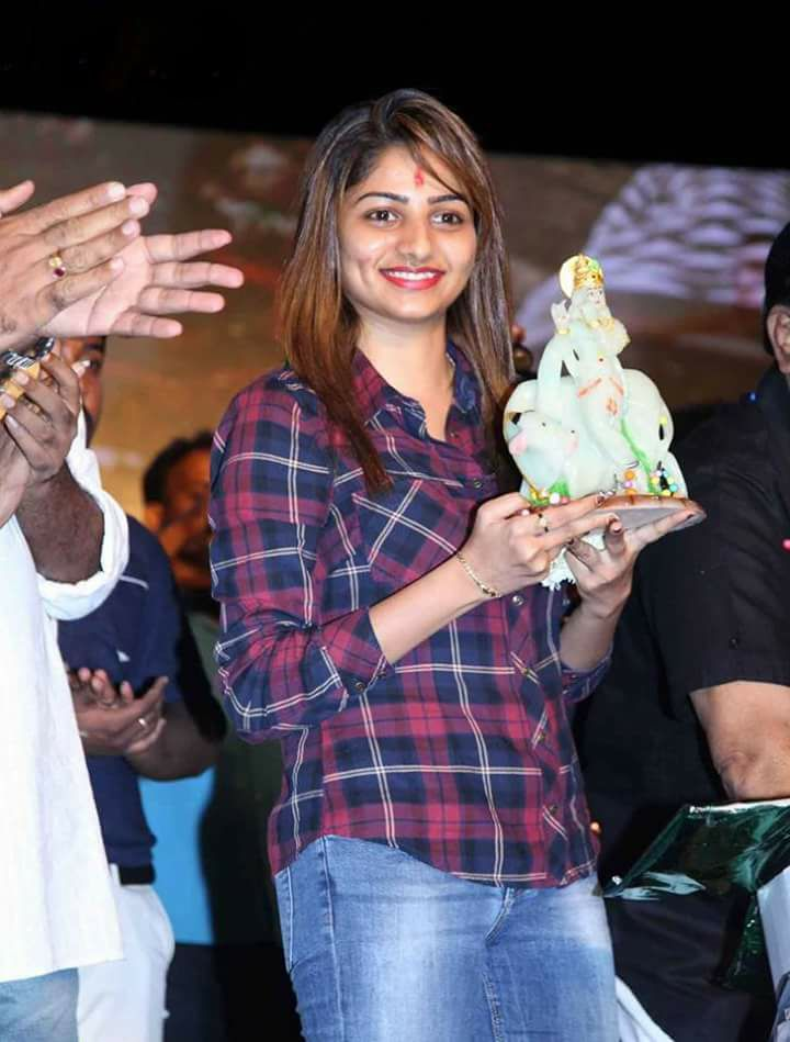Rachita Ram In Jeans Top Photos At Event