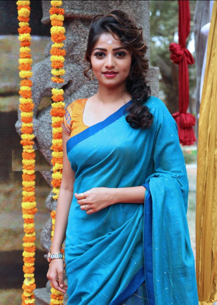 Rachita Ram In Saree Images
