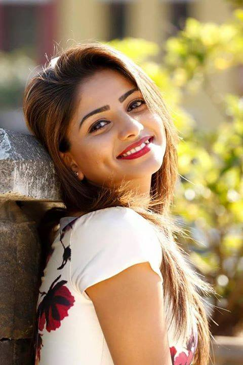 Rachita Ram Photos In Garden