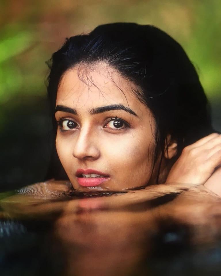 Rajisha Vijayan New Images In Water