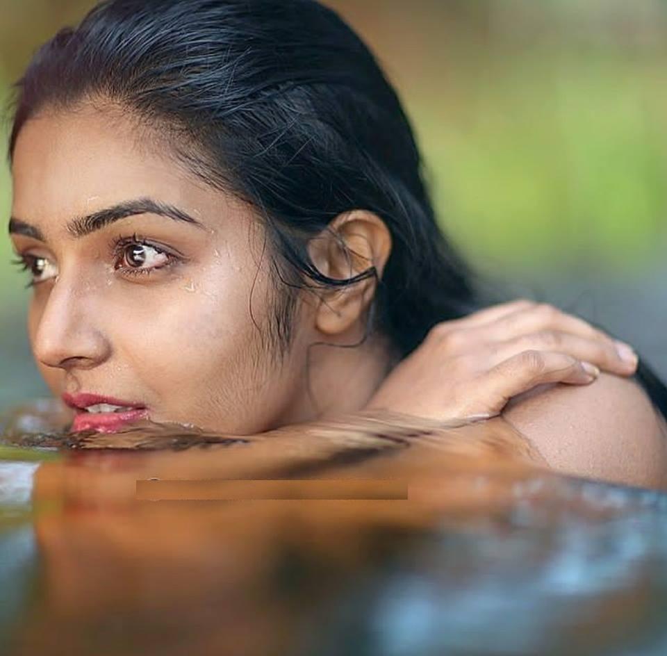 Rajisha Vijayan Sexy Eyes Pics Gallery