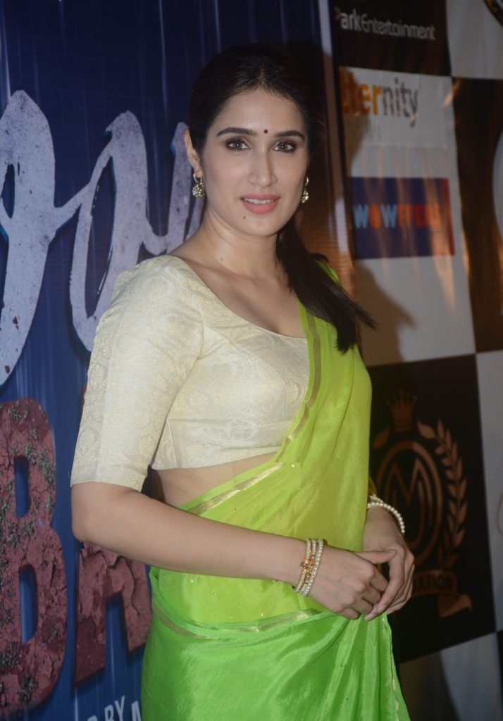 Sagarika Ghatge In Saree Photos