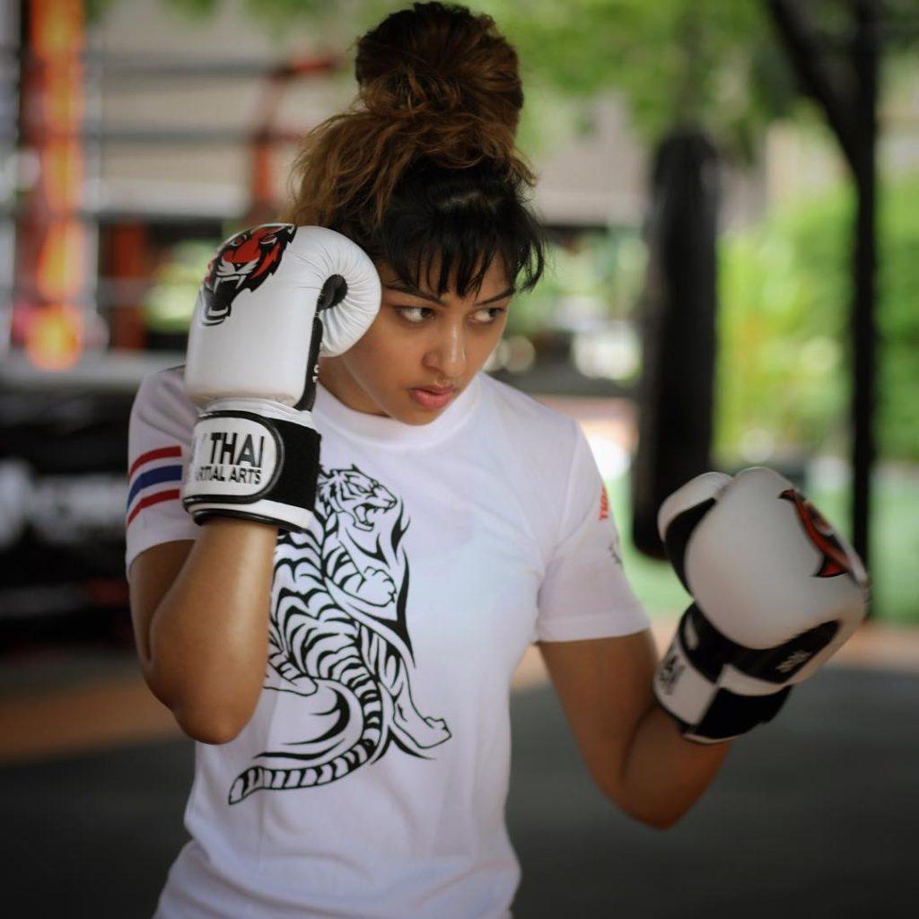 Sapna Vyas Patel Boxing Pics