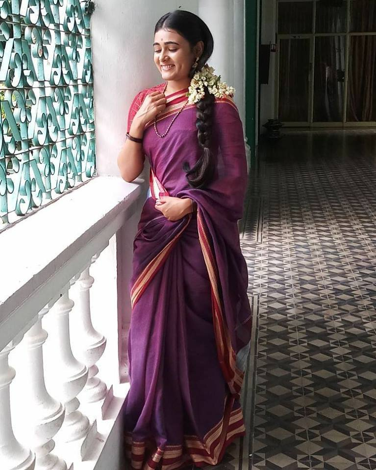 Shalini Pandey In Saree Photoshoot