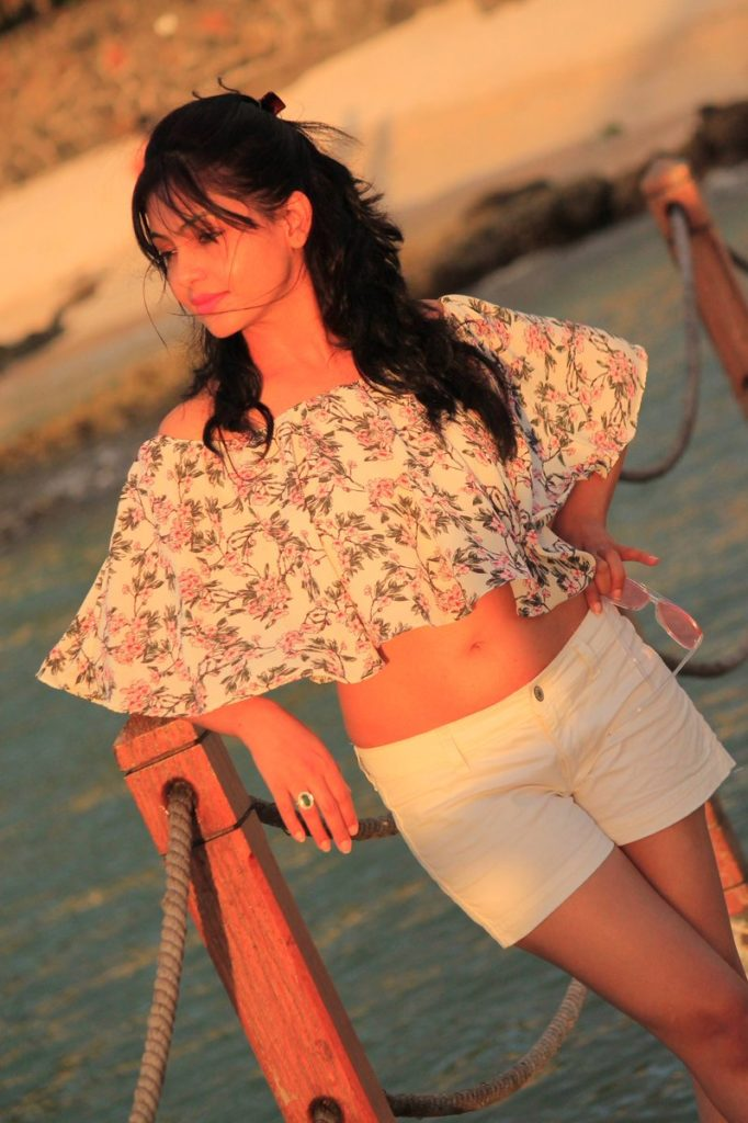 Shubhangi Atre In Shorts Bold Photos