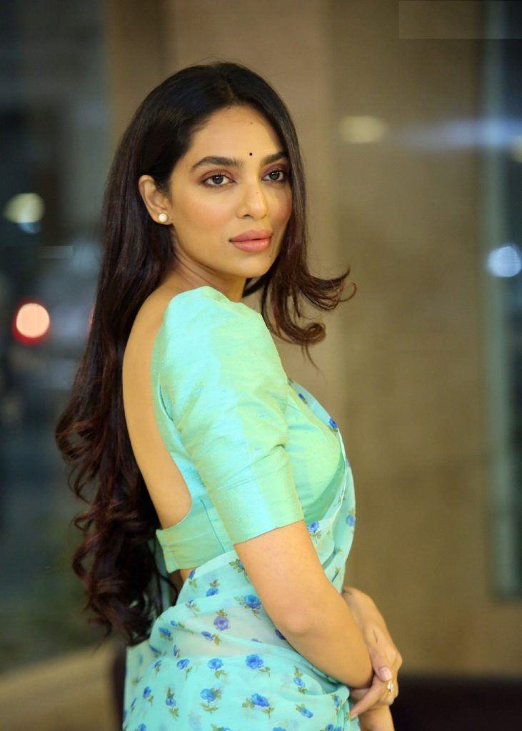 Sobhita Dhulipala In Backless Images
