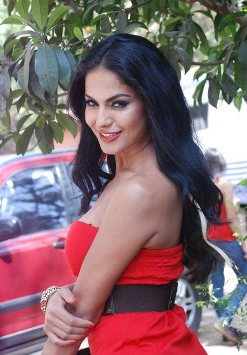Veena Malik In Backless Clothes Images