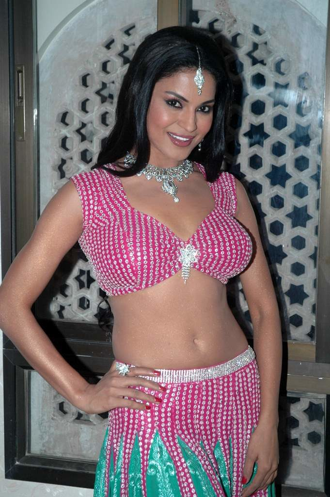 Veena Malik In Saree Bold Photos