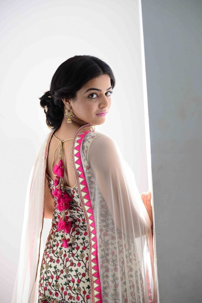 Wamiqa Gabbi In Backless Saree Photos