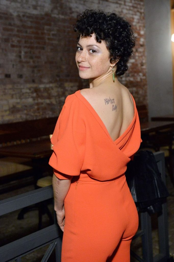 Alia Shawkat Backless Images