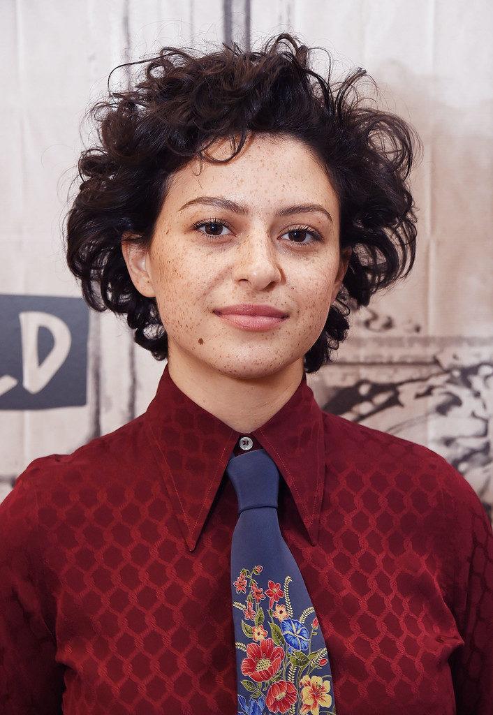 Alia Shawkat Short Hair Style Pics