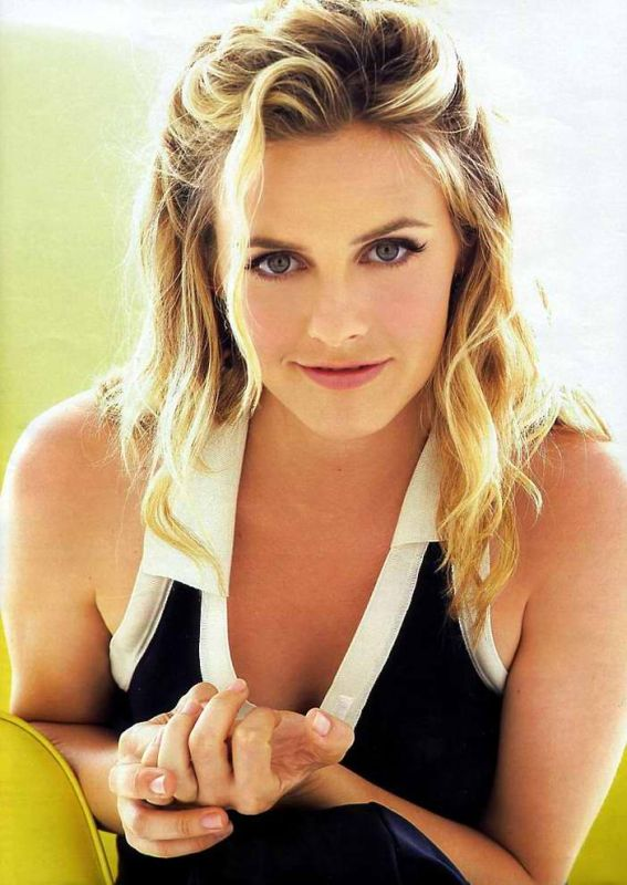 Alicia Silverstone Workout Images