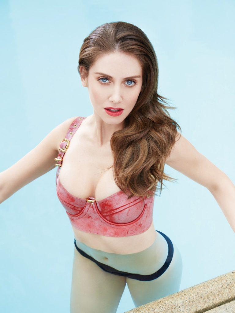 Alison Brie Bikini Swimsuit Images