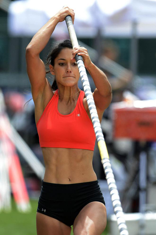 Allison Stokke Bra Panty Photos