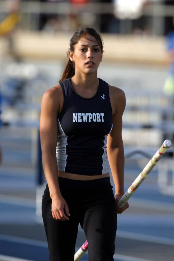 Allison Stokke Braless Pics