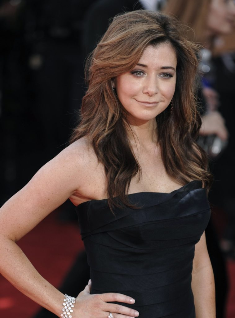 Alyson Hannigan Muscles Images