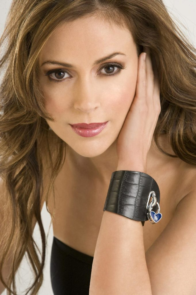 Alyssa Milano Makeup Wallpapers