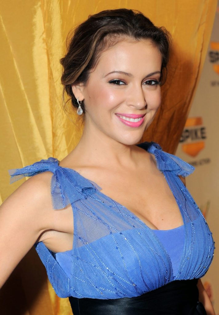 Alyssa Milano Muscles Pictures