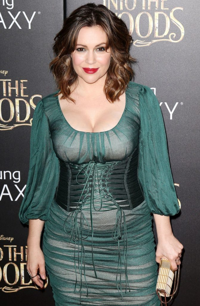 Alyssa Milano Red Carpet Photos